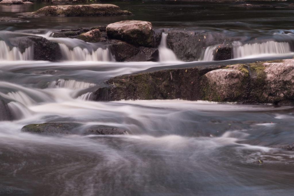 Cedarburg waterfall long exposure