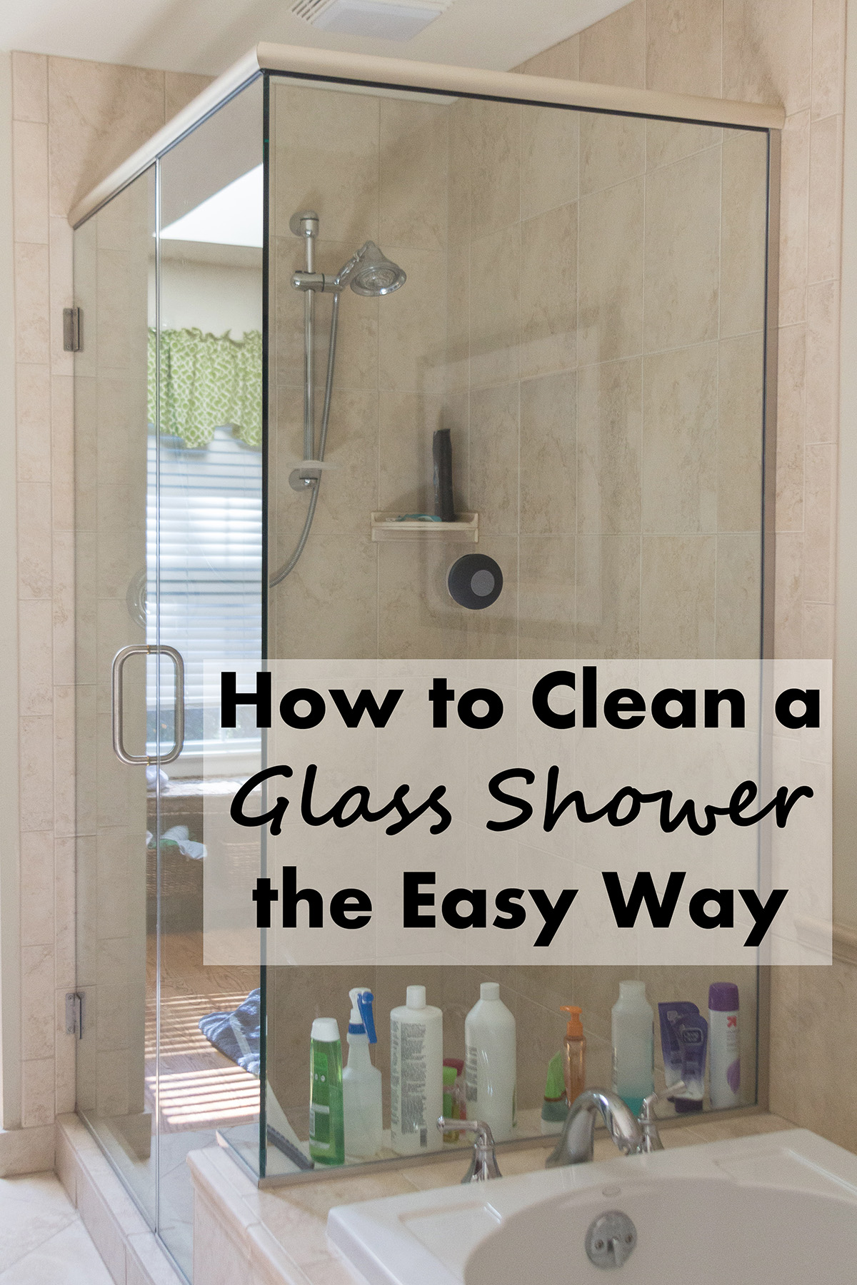 How To Clean Glass Shower Doors With Vinegar And Dawn how to clean a glass shower the easy way • rose clearfield