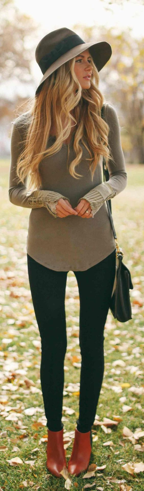 Casual Women's Autumn Outfit