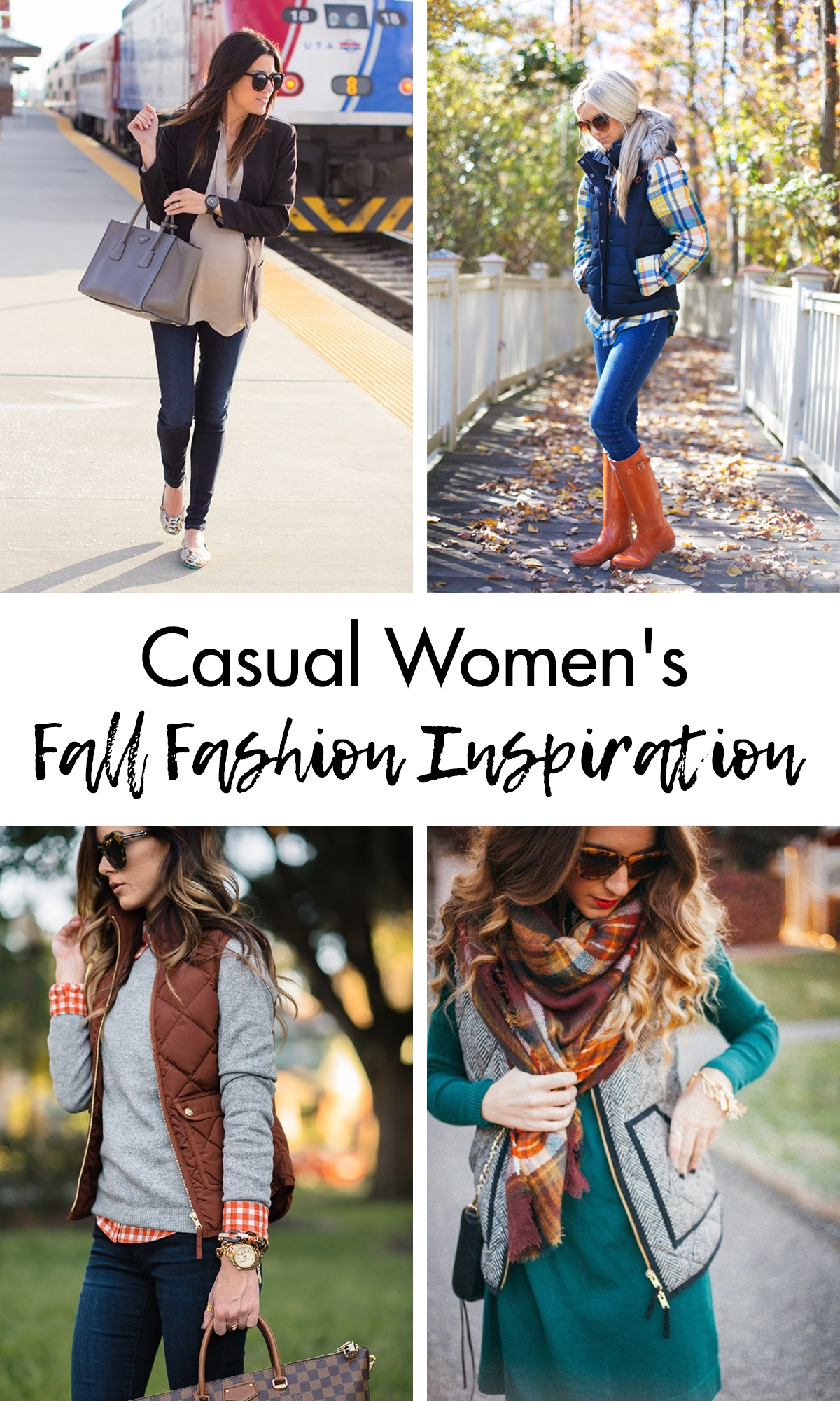 Casual Women's Fall Fashion Inspiration