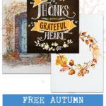 Free Autumn Printables Round-Up