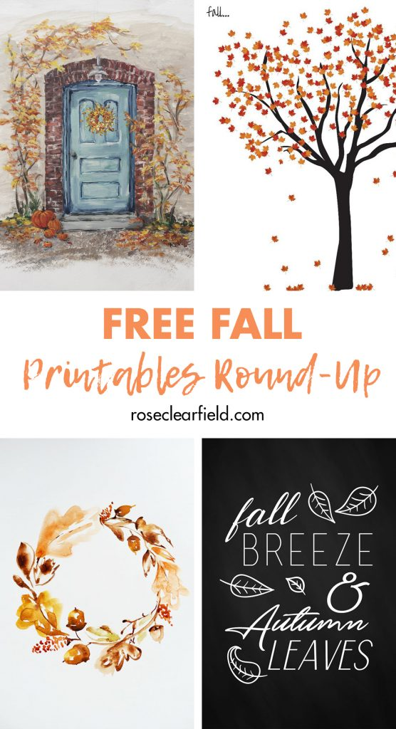 Free Fall Printables Round-Up