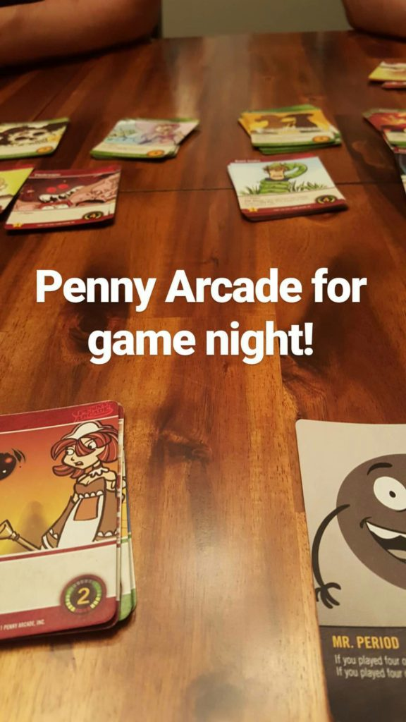 Penny Arcade for Game Night August 2016