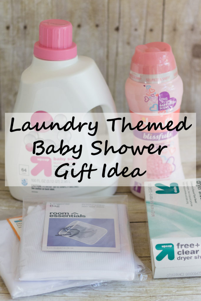 Laundry Themed Baby Shower Gift Idea | https://www.roseclearfield.com