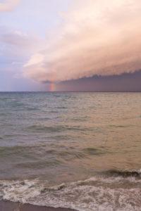 Rainbow Over Lake Michigan   https://www.roseclearfield.com