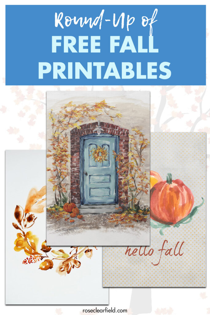 Round-Up of Free Fall Printables