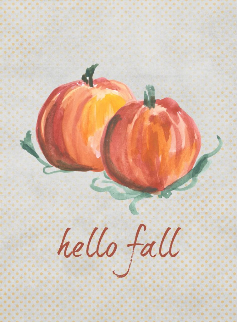 Hello Fall Printable Glued to My Crafts