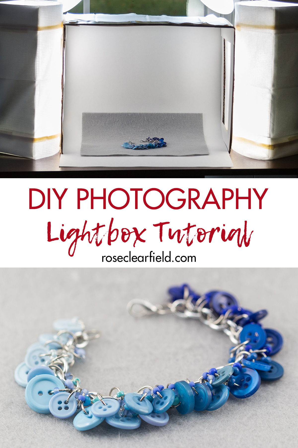 DIY Photography Lightbox Tutorial