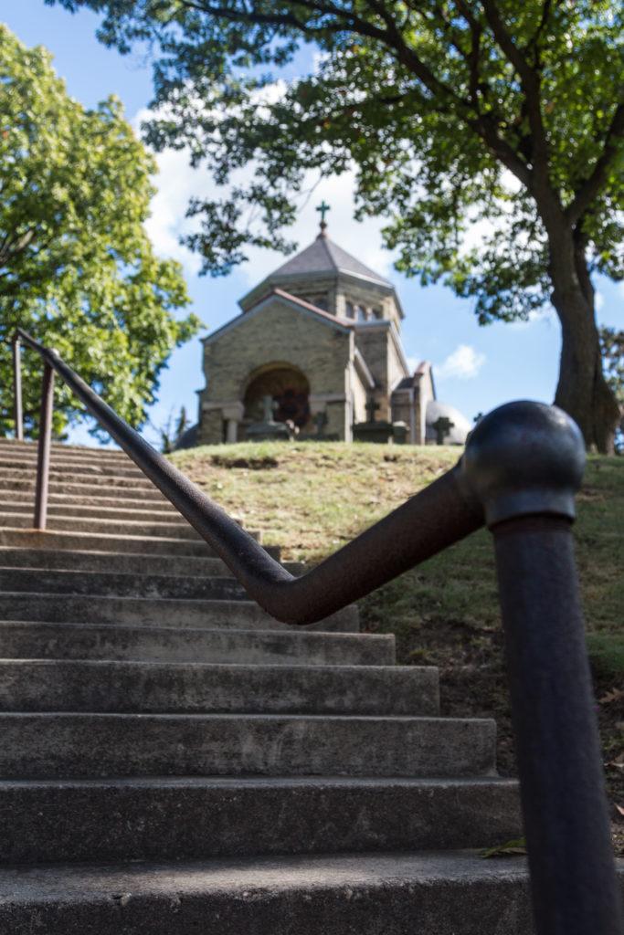 Calvary Cemetery Chapel - Doors Open Milwaukee 2016 | https://www.roseclearfield.com