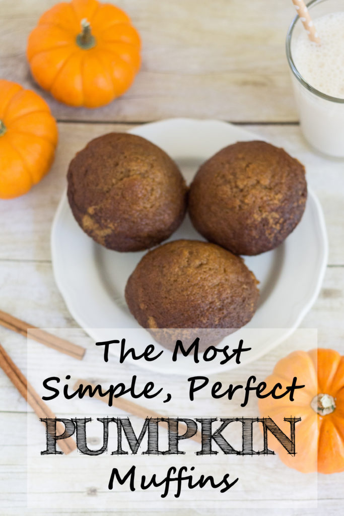 The Most Simple, Perfect Pumpkin Muffins   https://www.roseclearfield.com