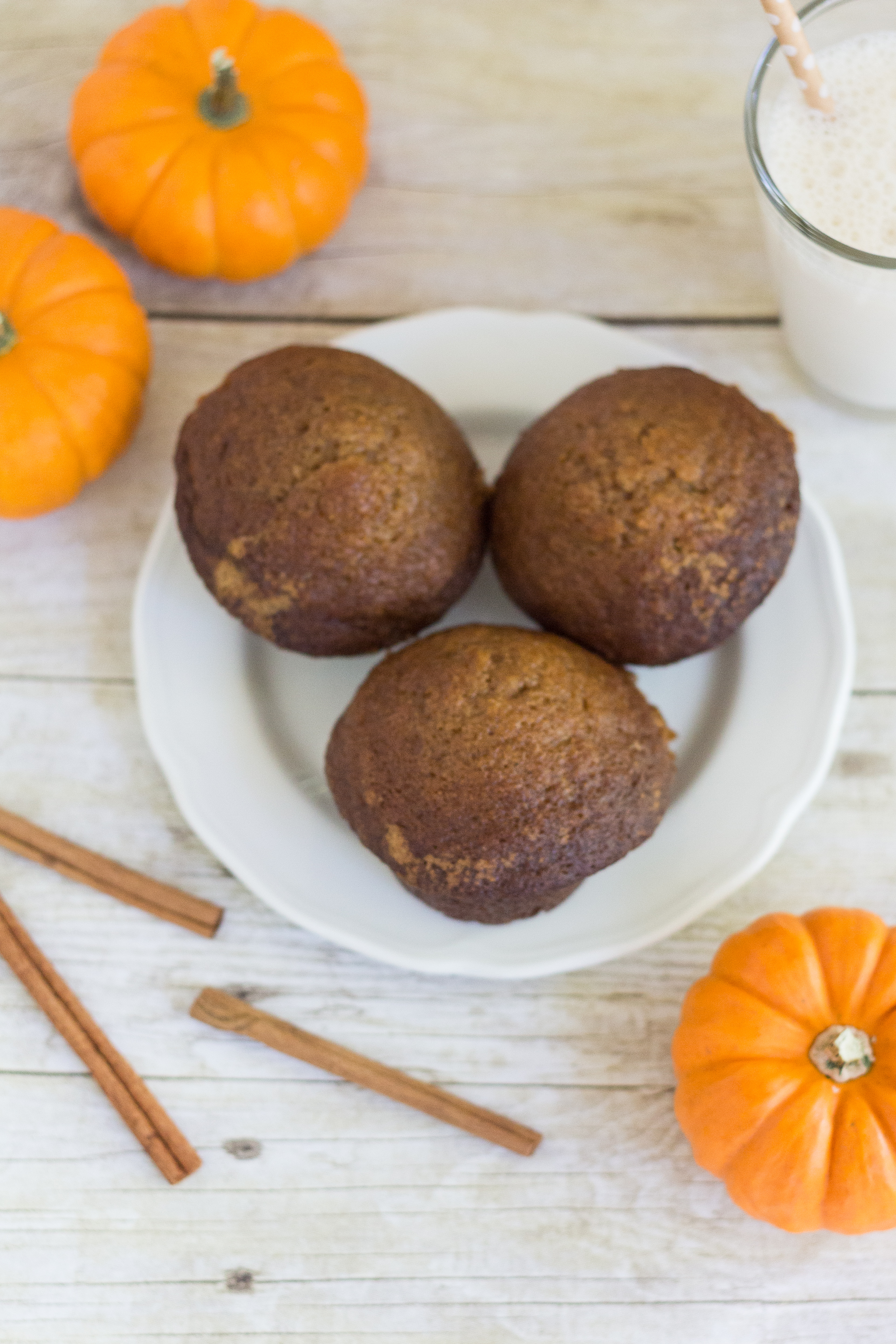 The Most Simple, Perfect Pumpkin Muffins | https://www.roseclearfield.com