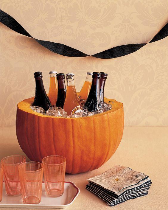 Pumpkin Party Cooler Martha Stewart