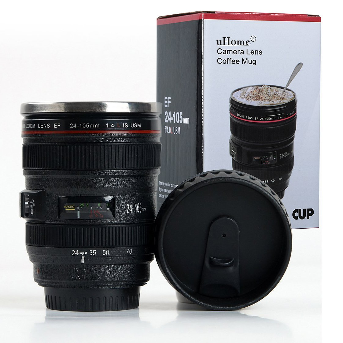Canon DSLR Camera 24-105mm f/4 Lens Cup...such a fun gift item! | https://www.roseclearfield.com