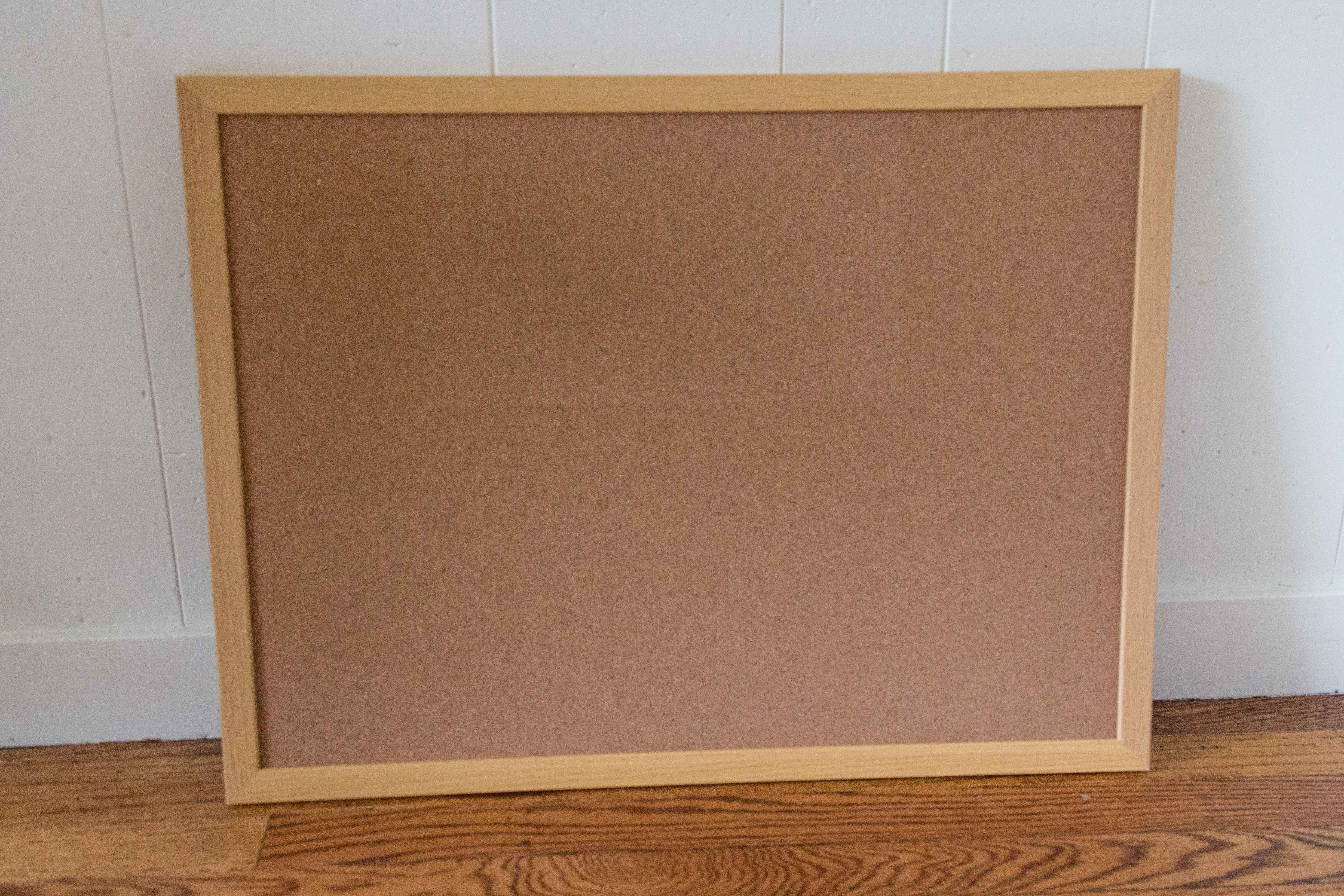 A plain cork bulletin board is perfect for a real life inspiration board. | https://www.roseclearfield.com