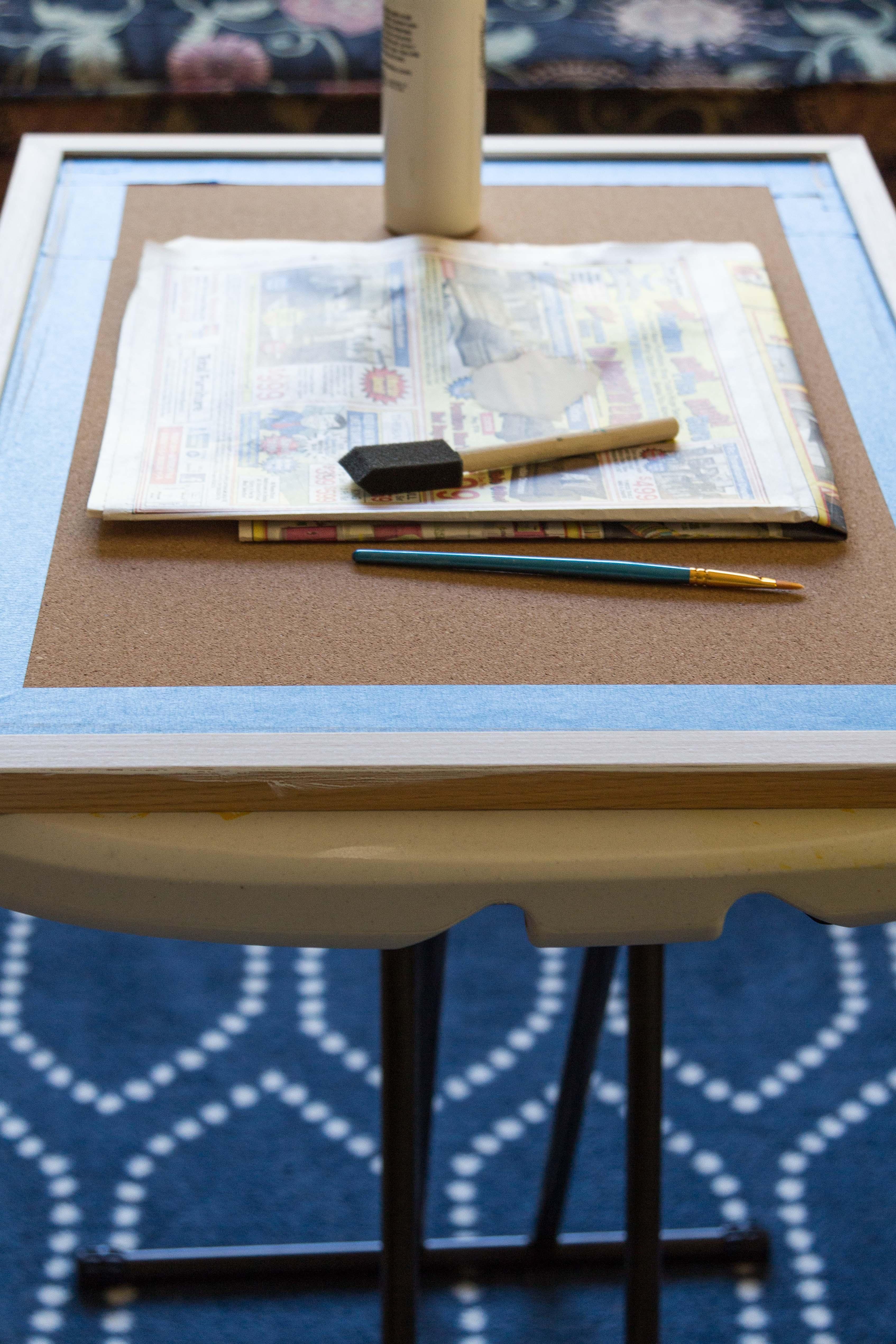 DIY Real Life Inspiration Cork Board in progress. | https://www.roseclearfield.com