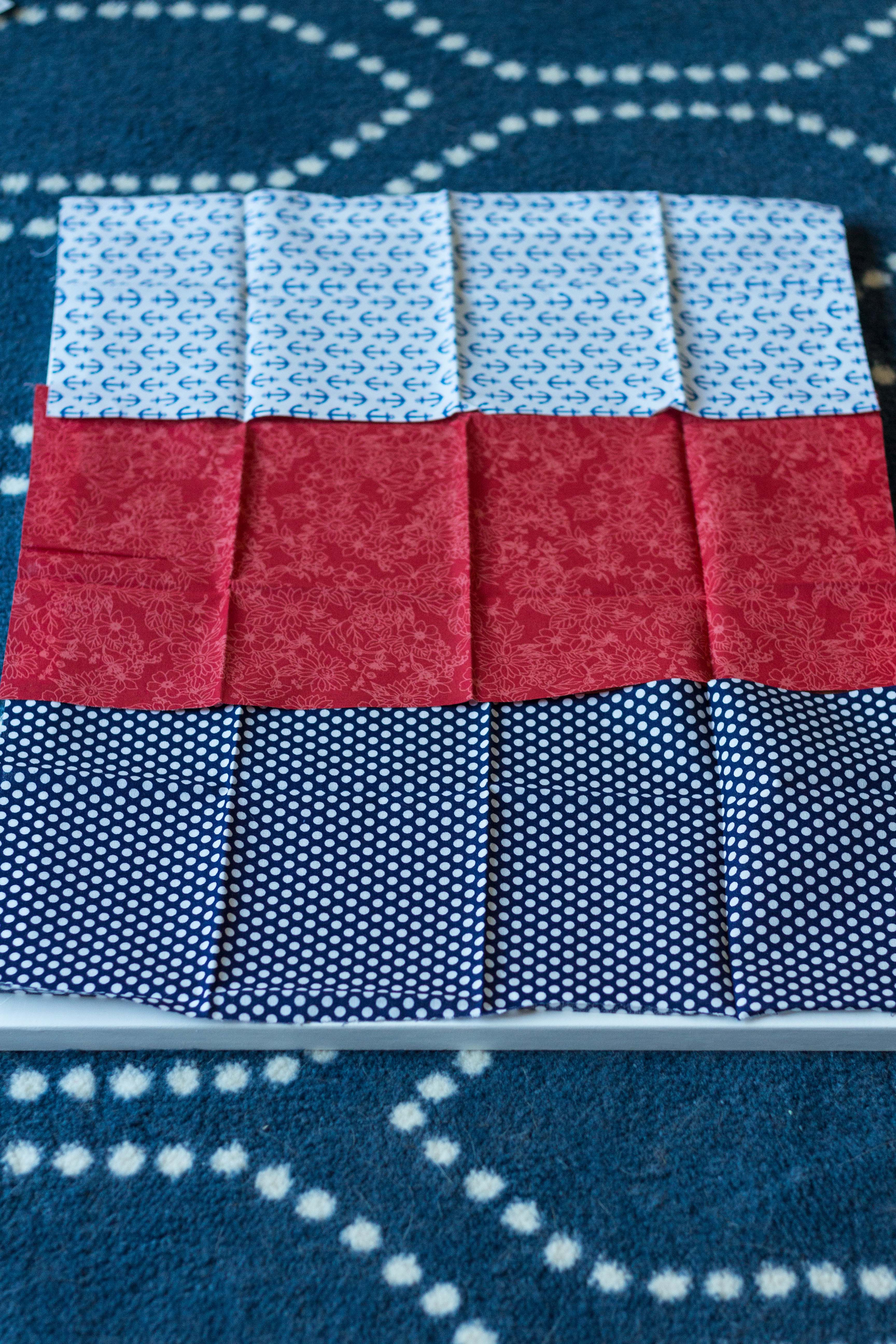 Fabric fat quarters for DIY inspiration board. | https://www.roseclearfield.com