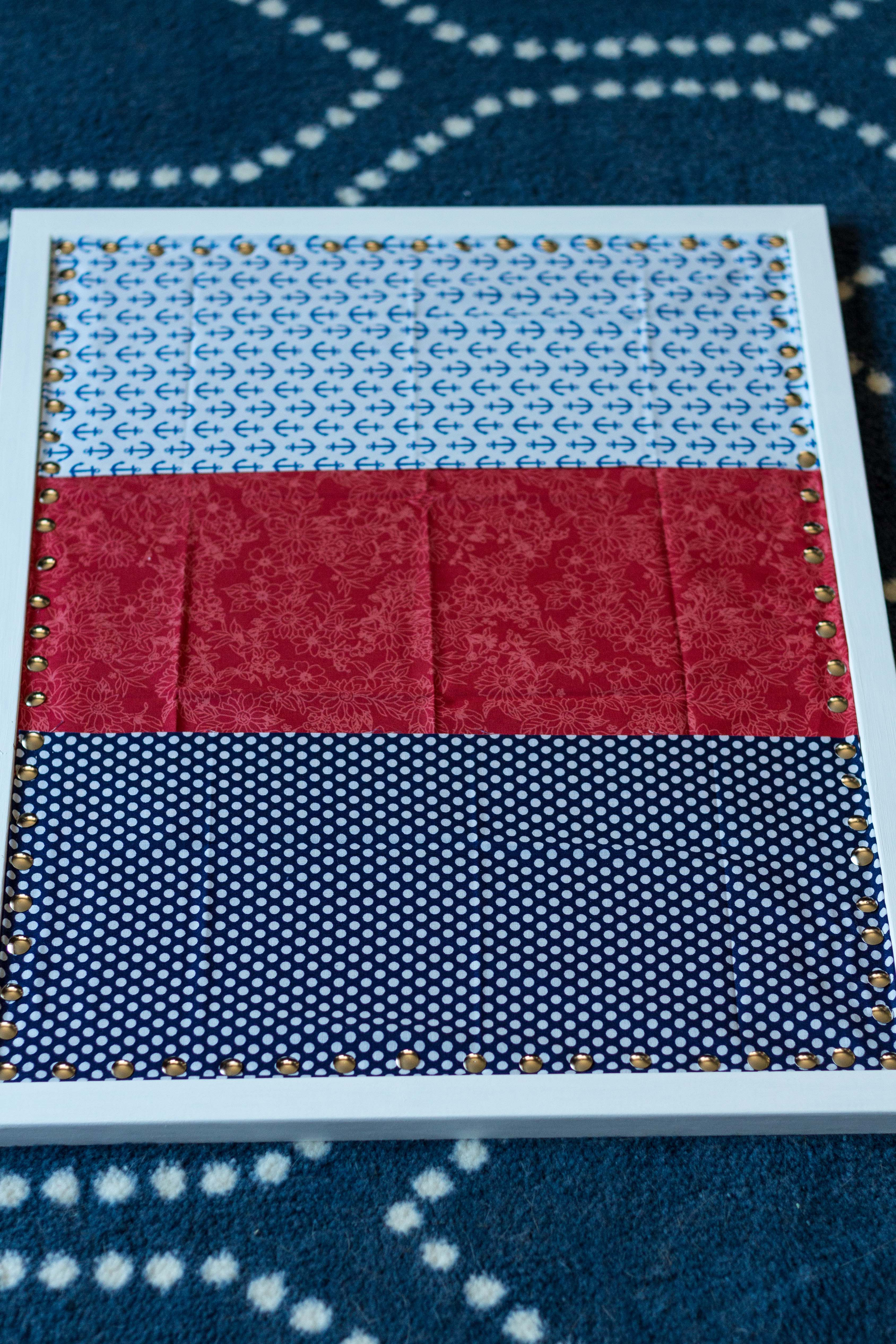DIY Fabric Covered Inspiration Cork Board | https://www.roseclearfield.com