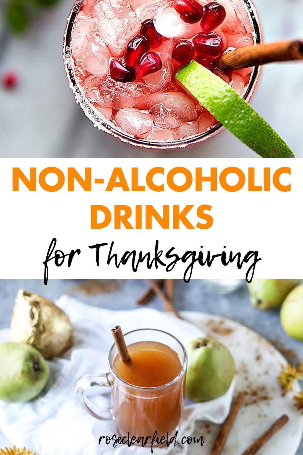 Non-Alcoholic Drinks for Thanksgiving 2