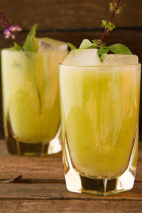 Pear Lemonade with Thai Basil Sippity Sup Cropped
