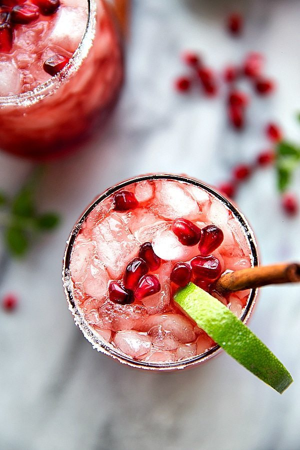 Sparkling Cranberry Pomegranate Drink Chelsea's Messy Apron