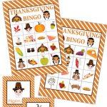 Thanksgiving Bingo Game Miss Information Blog