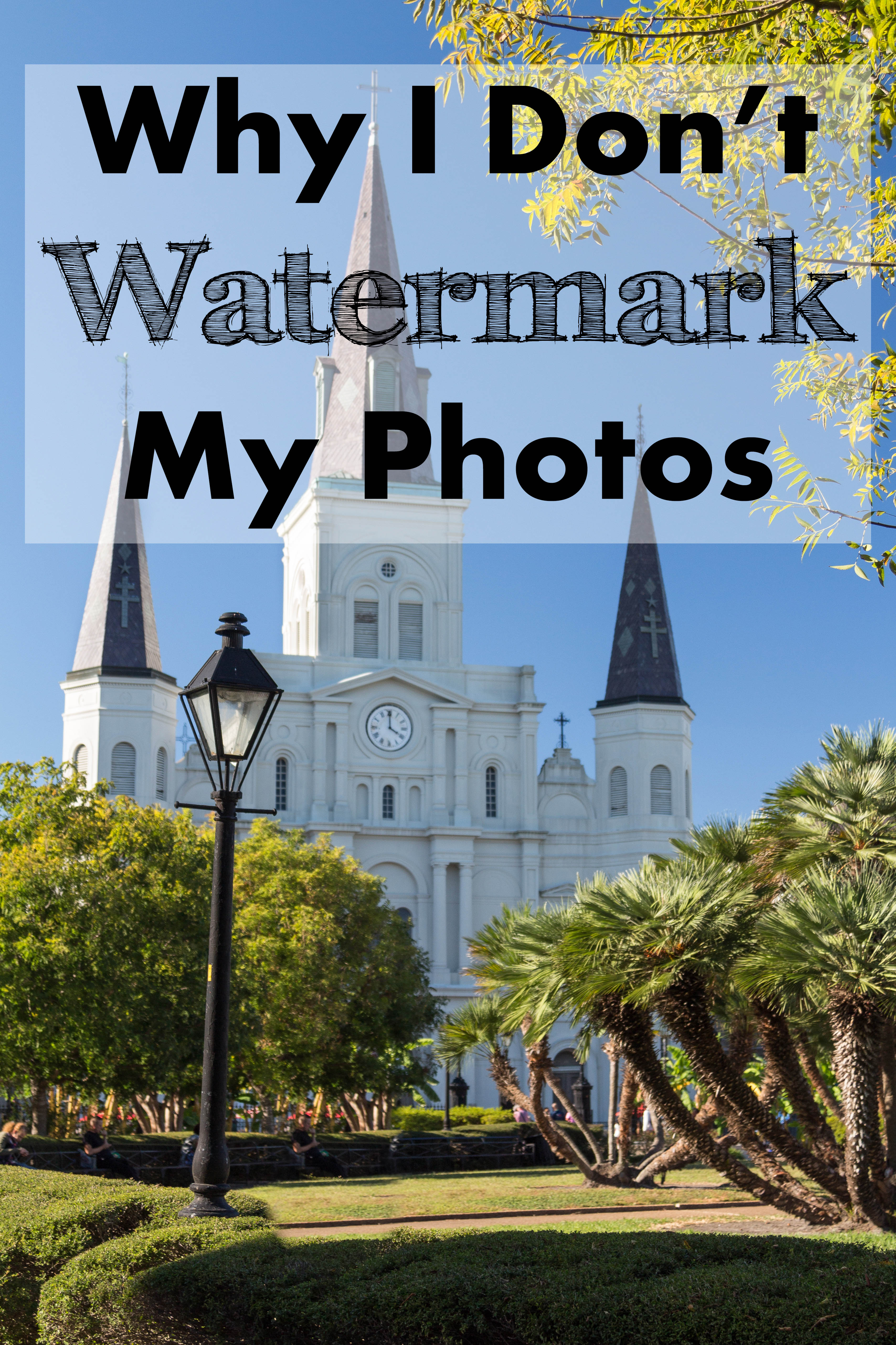 Why I Don't Watermark My Photos | https://www.roseclearfield.com