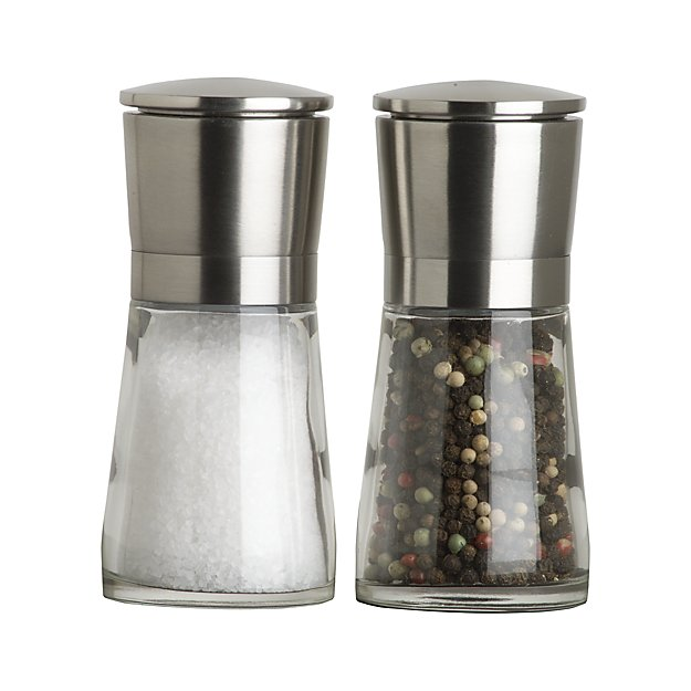 My 7 Favorite Staple Crate and Barrel Kitchen Items - Bavaria Salt and Pepper Mills | https://www.roseclearfield.com