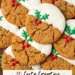 10 Cute Creative Christmas Cookies