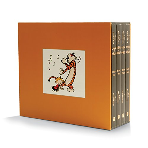 Holiday Gift Guide for Him - The Complete Calvin and Hobbes Book Set...a must have for any long-time Calvin and Hobbes fan! | https://www.roseclearfield.com