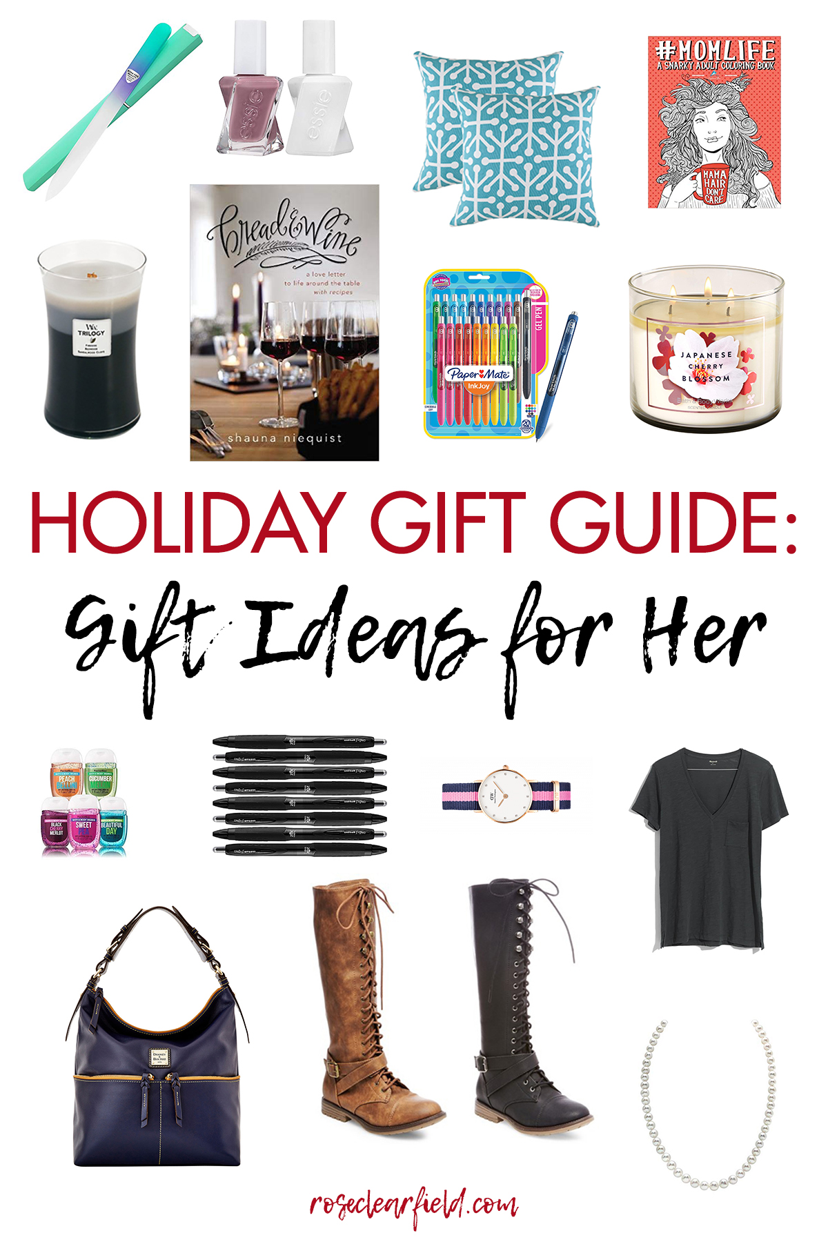 Holiday Gift Guide: Gift Ideas for Her