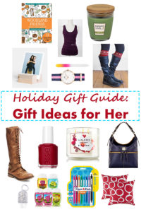 Holiday Gift Guide: Gift Ideas for Her | https://www.roseclearfield.com