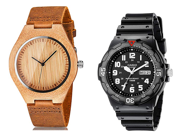 Holiday Gift Guide for Him Men's Watches Collage