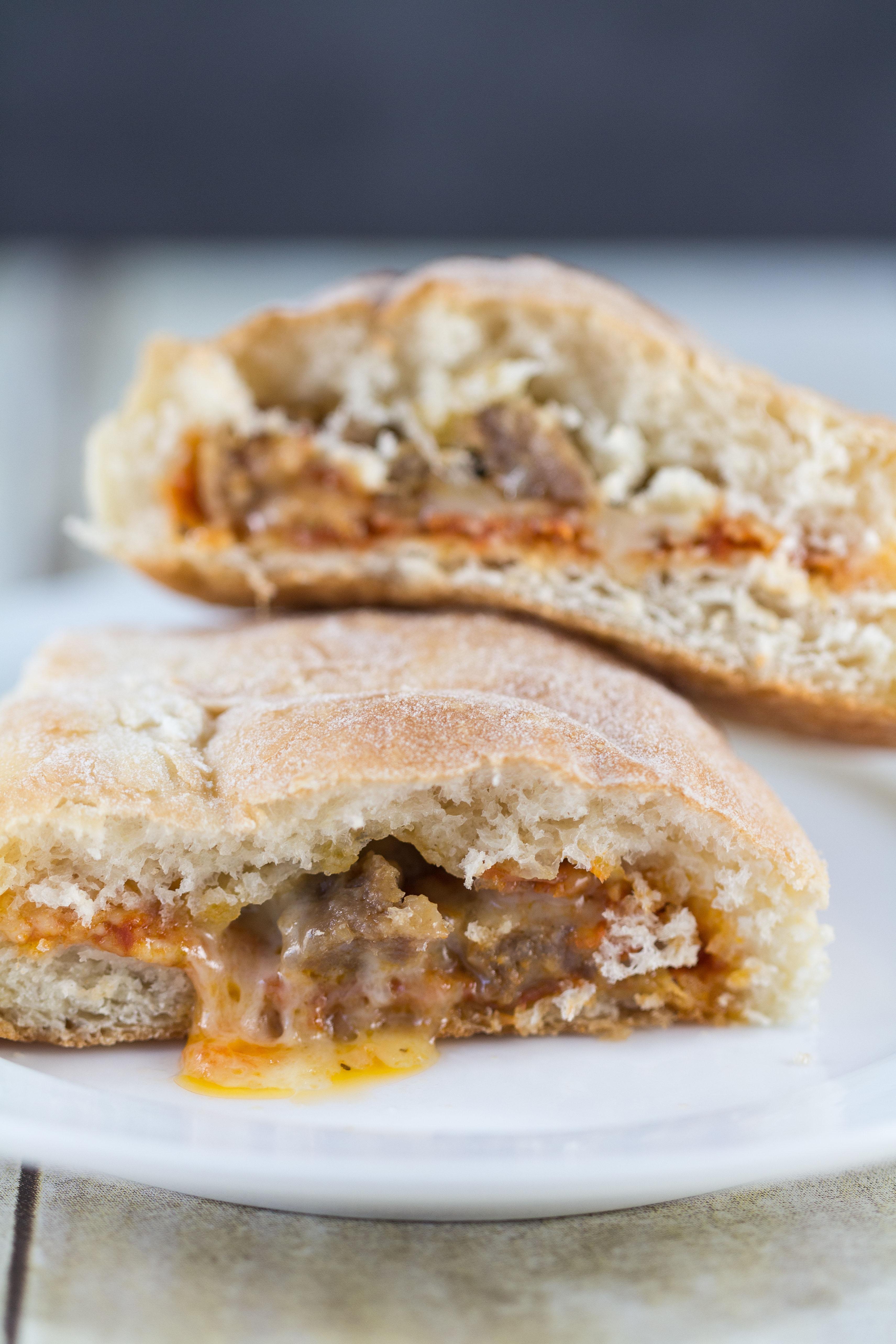 Mini Pizza Calzones | https://www.roseclearfield.com