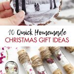 Quick Homemade Christmas Gift Ideas
