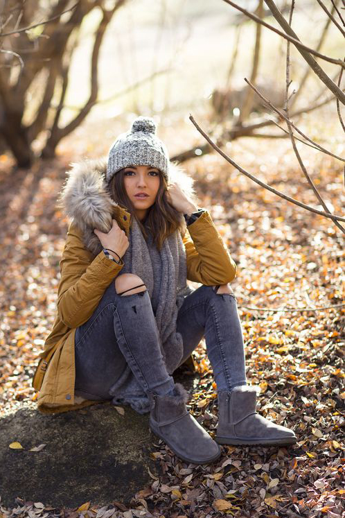 Casual Winter Fashion Inspiration Rose Clearfield