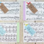 DIY Just a Note Sheet Music Greeting Card Tutorial | https://www.roseclearfield.com