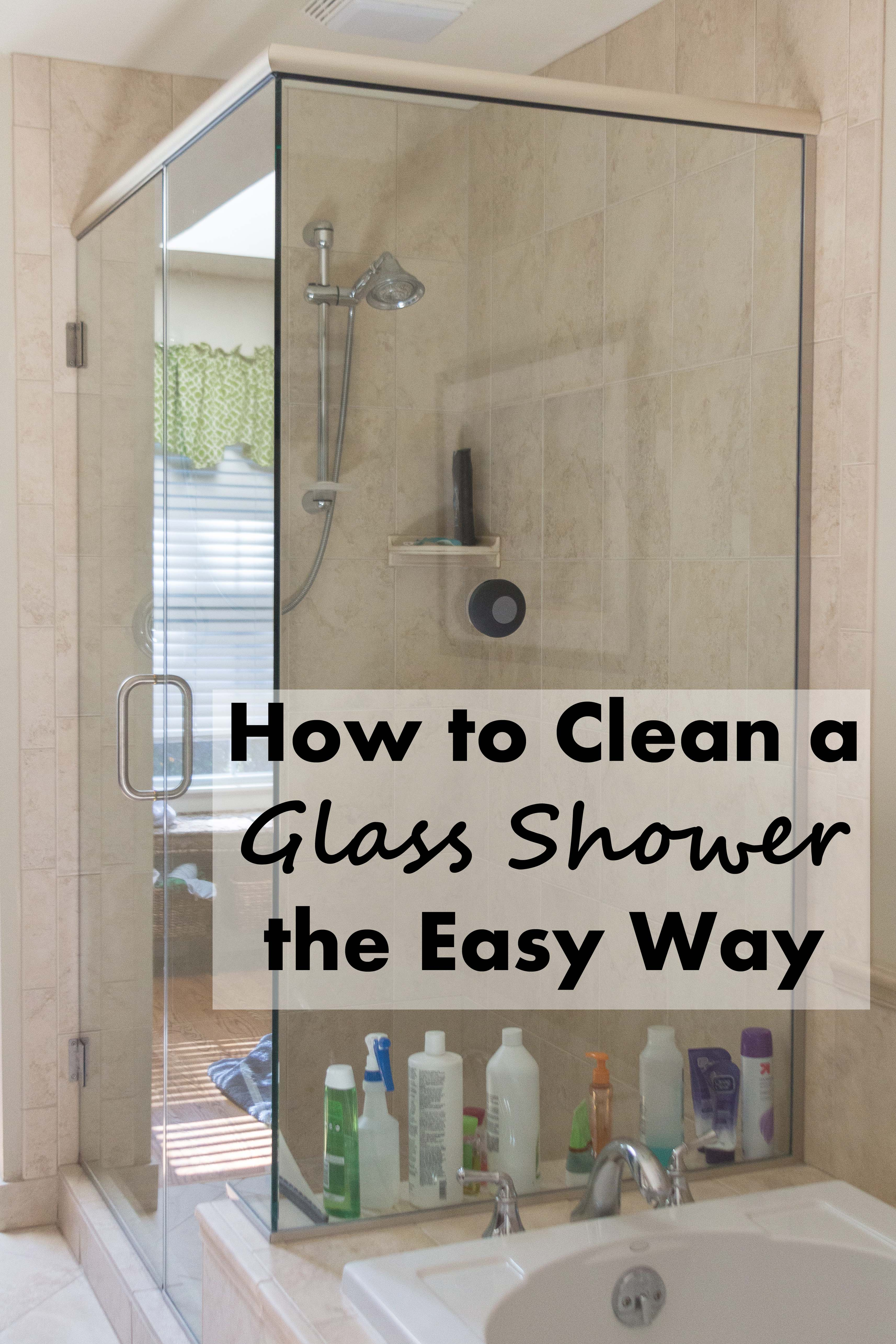 How to Clean a Glass Shower the Easy Way   https://www.roseclearfield.com