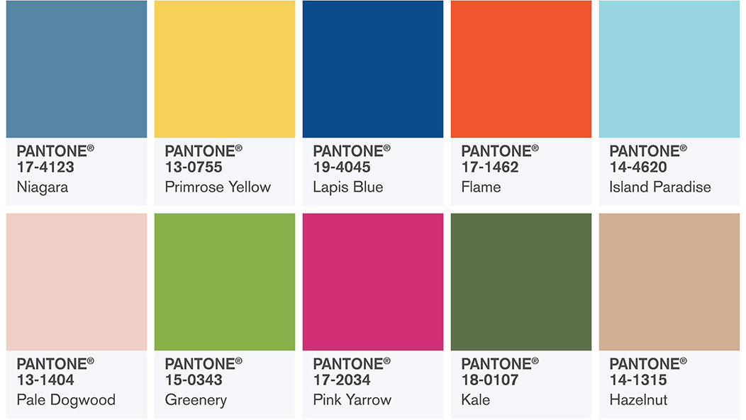 Pantone Spring 2017 Colors | https://www.roseclearfield.com