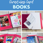 Upcycled Christmas Card Books