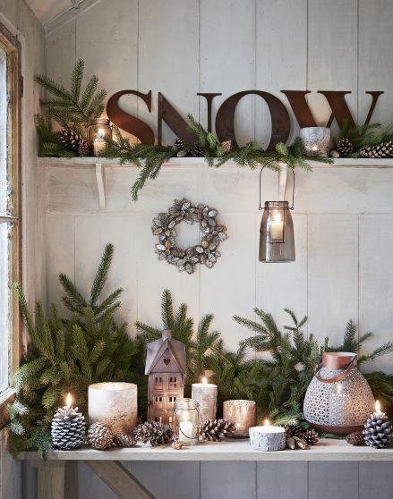 Neutral Winter Home Decor