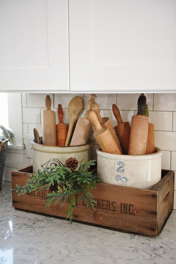Winter Kitchen Display