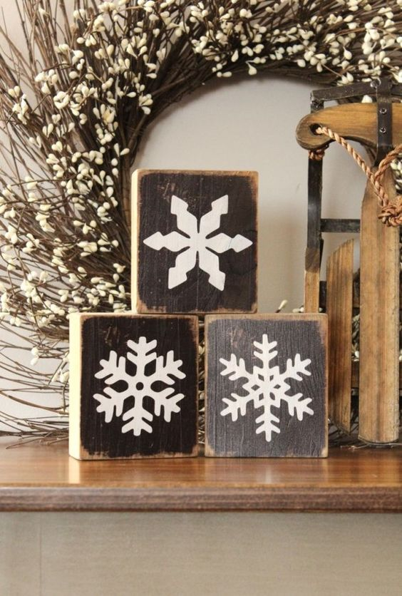 Snowflake Winter Decor