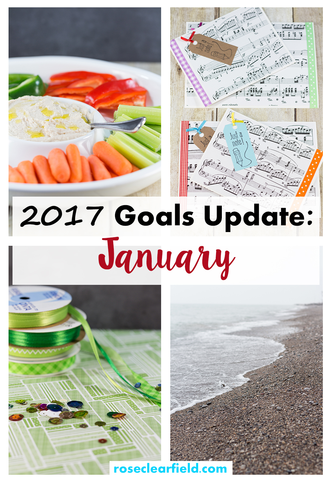 2017 Goals Update: January   https://www.roseclearfield.com