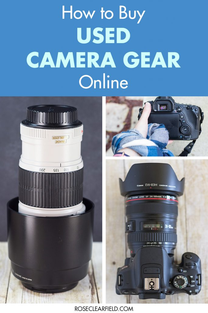 How to Buy Used Camera Gear Online