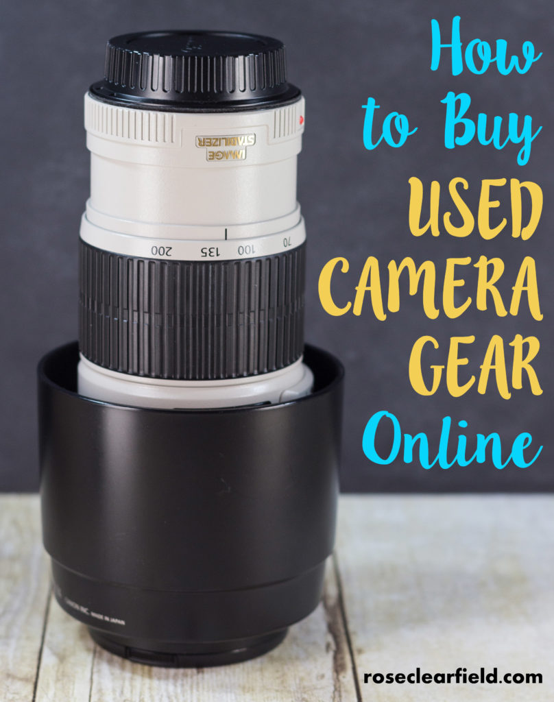 how to buy a used camera