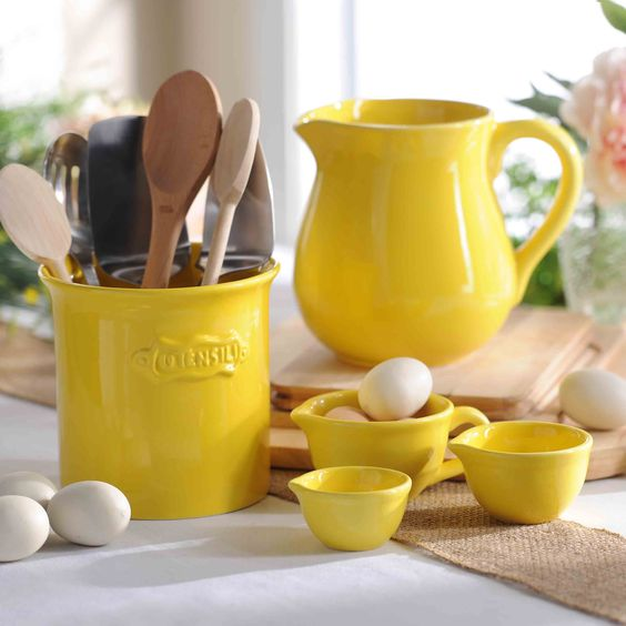 Pantone Spring 2017 Primrose Yellow - Kitchen Items | https://www.roseclearfield.com