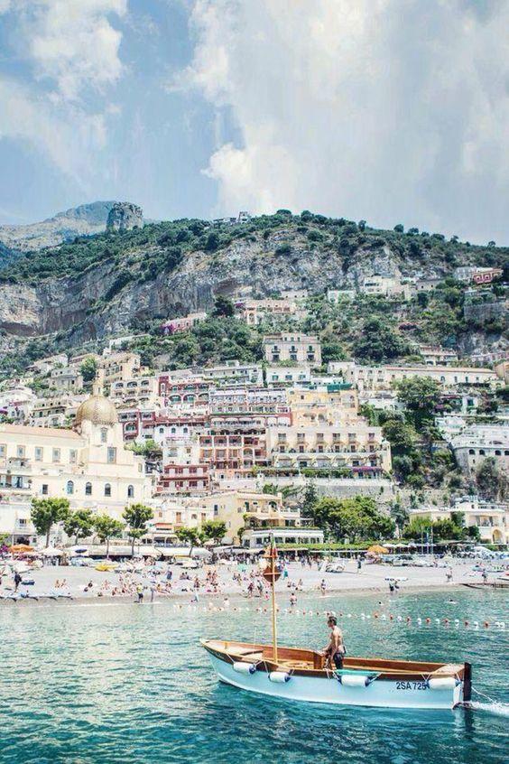 Positano Italy whatkatieate.com