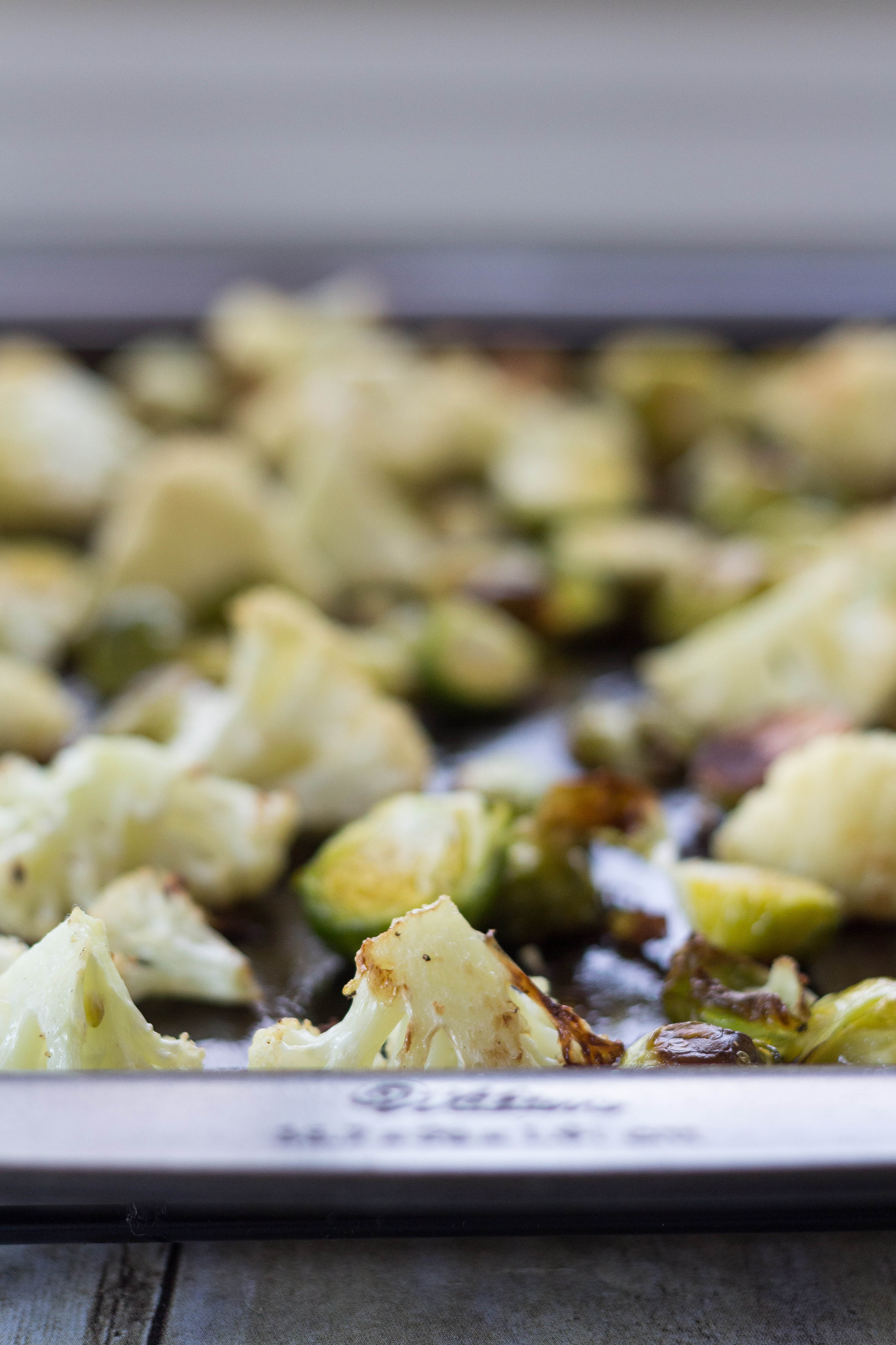 Roasted Cauliflower and Brussels Sprouts   https://www.roseclearfield.com