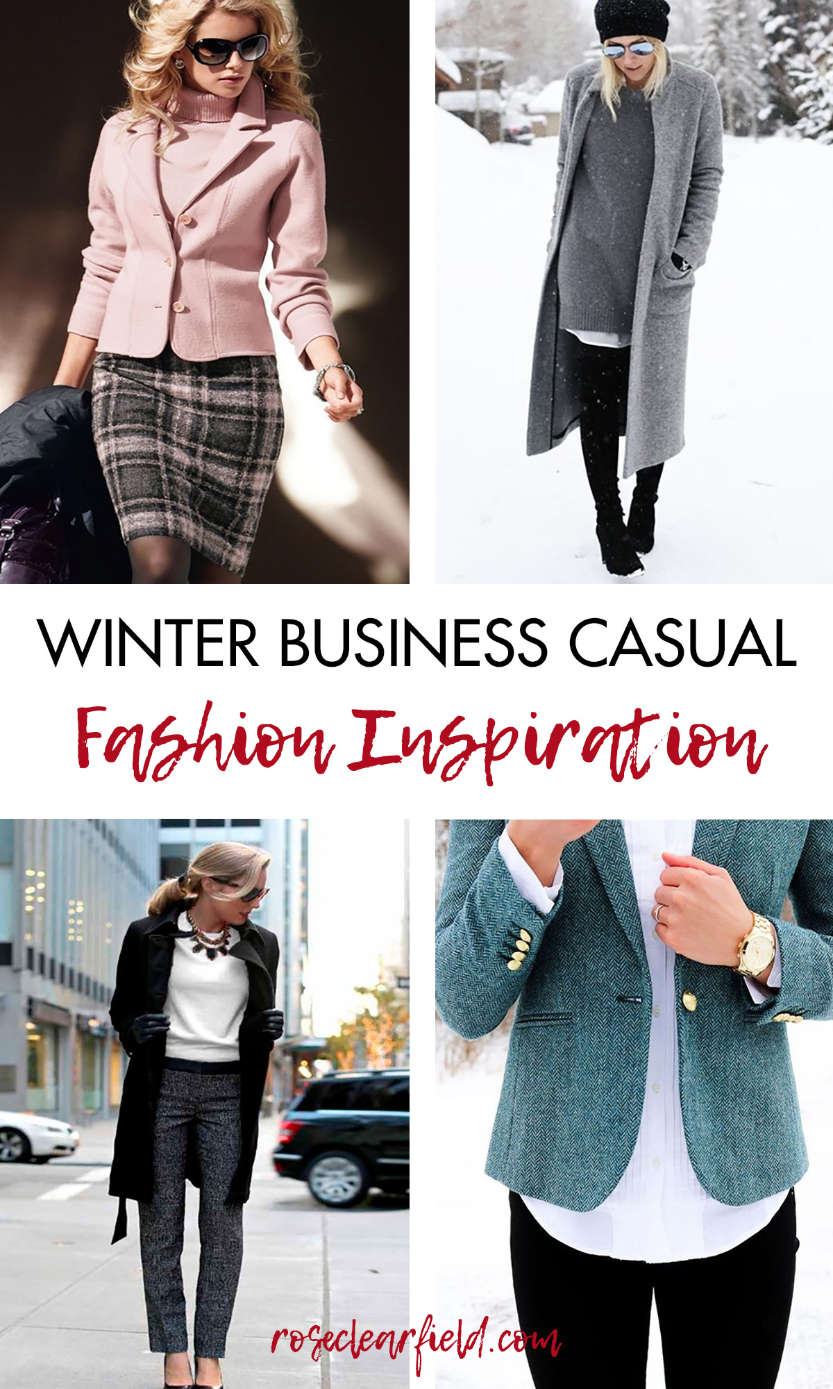 Women's Winter Business Casual Fashion Inspiration