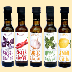 Canaan Fair Trade Crushed Infused Olive Oils   https://www.roseclearfield.com